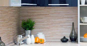 МДФ панели для фартука на кухню — недорогое и практичное решение