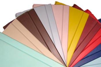 Форма и цвета панелей