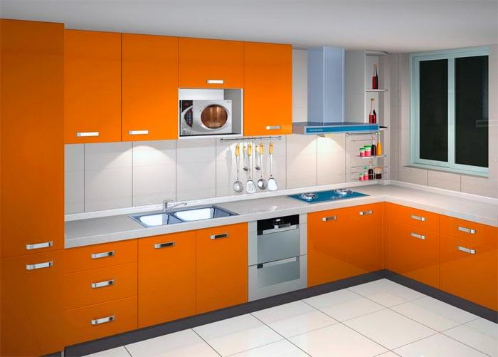 Оранжевый цвет побуждает аппетит