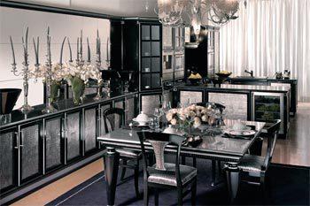 Арт Деко — триумфальный стиль в интерьере кухни