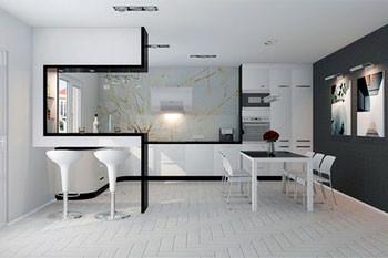 Кухня в стиле ХайТек: фото интерьера и особенности дизайна