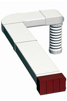 Пример монтажа вентиляционного канала