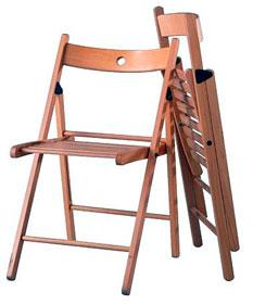 Складные удобные стулья