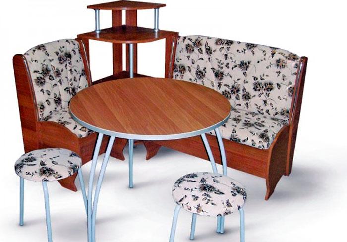Круглый стол - очень компактный