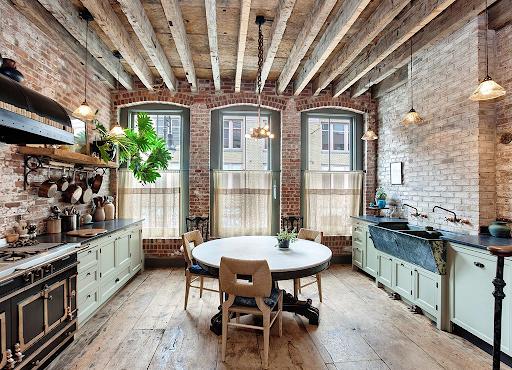 Характеристики кухни в стиле лофт