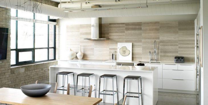 Ключевые особенности дизайна кухни в стиле лофт