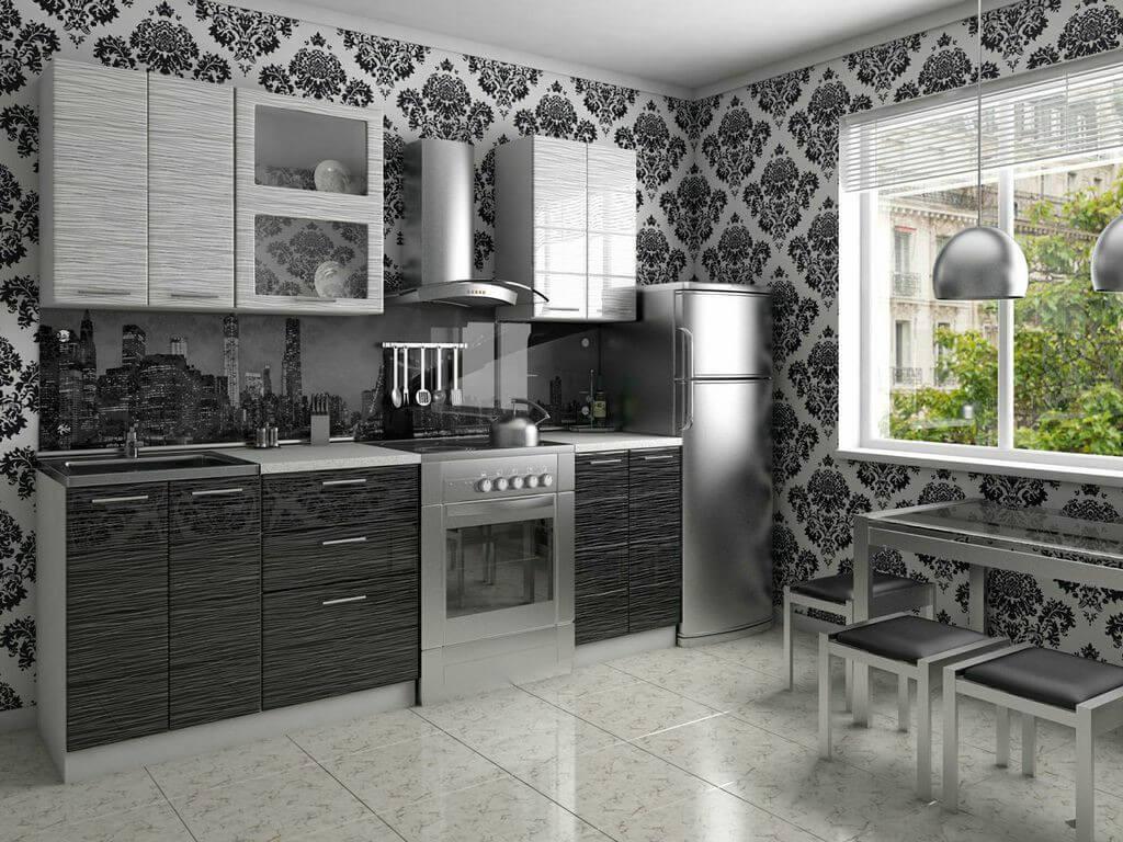 Лучшие идеи дизайна кухни в серых тонах с яркими акцентами (60+ фото)